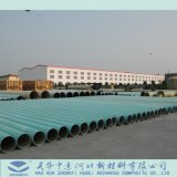 GRP/tubo de plástico reforzado con fibra para la canalización de agua reciclada de la planta nuclear