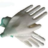 13 Индикатор трикотажные белый провод фиолетового цвета с покрытием защитные рабочие перчатки