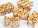Липкие продукта (карамель) рассматриваются автоматические линии по упаковке