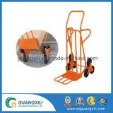 Camion di mano della piattaforma/carrello pieganti della mano con 3.50-4 rotelle