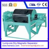Séparateur magnétique sec à grains grêlés pour le moulage, la céramique, le charbon