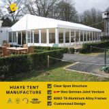 بيضاء [بفك] سقف تغذية & ألومنيوم إطار خيمة مع [غلسّ ولّ] ([هف] [20م])