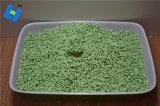 Profumo aggiunto del tè verde della lettiera del tofu per la toletta del gatto