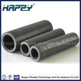 Haute pression sur le fil R12 quatre couches spirale flexible en caoutchouc hydraulique