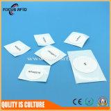 Etiqueta de papel de la etiqueta engomada de la gerencia RFID de la calidad de miembro con MIFARE 1K
