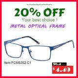 Optische Frames van het Metaal van het Frame van het metaal de Materiële en Recentste (FCM5352)