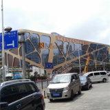 Алюминиевый Veneer панели/алюминиевых с прокалыванием для украшения фасада стены