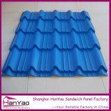 Techos Azulejos ondulado colorido recubierto de acero del azulejo de azotea