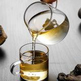 Jarra de crema de vidrio de borosilicato de alta taza de té de Pyrex Jarra de té
