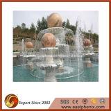 Marbre Naturel / Granite Pierre Carving Water Musique / Ball Statue Fontaine pour Jardin / Mur / Extérieur