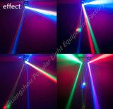 8X10W se doblan luz principal móvil del eje LED