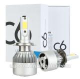 熱い販売の1つのキットの最もよい価格H4 H3 H7 H11の電球の自動霧ランプLEDのヘッドライトC6すべて