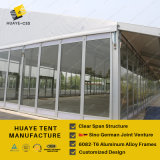 옥외 방수 명확한 지붕 당 천막 40X70m
