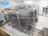 Le pain en acier inoxydable de la ligne de production de pain du système de refroidissement