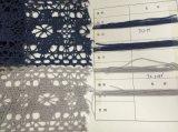 編むこと、カスタマイズされた幅およびカラーの綿のレース