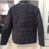 Clothing 100%Poly Woven Qulited Thick Jacket degli uomini