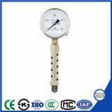 50mmの高品質の耐食性の高温圧力計