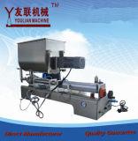 半自動1つは先頭に立つ軟膏のかのりまたはクリームまたはソースおよび液体50-500ml充填機(G1WGD)