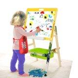 Дети халата искусствоа малышей крася рисберму с Roomy карманн