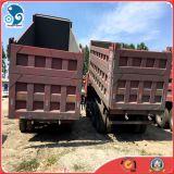 autocarro con cassone ribaltabile utilizzato camion di 10wheel HOWO, vendita dell'autocarro a cassone di Sinotruck nel Ghana