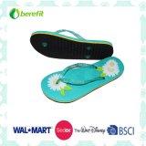 Slippers van vrouwen met Bright Printing, EVA Sole en pvc Straps