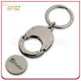 Soft Enamel Carrinho de Compras Trolley Holder Key Chain