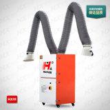 Collettore di polveri portatile industriale della saldatura con il doppio filtro dalla cartuccia