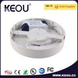 円形LEDの照明灯の天井灯3W-24WのセリウムRoHS PF 0.9 IP44