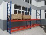 Estantes de metal médio coloridos Garagem Rack 4 prateleiras de armazenamento inicial da unidade de prateleiras Prateleira Yd-R6