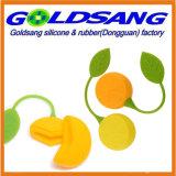 Saco de chá do silicone Eco-Friendly da forma do limão mini