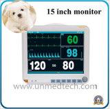 Портативный монитор пациента Multi-Parameter ветеринарных физиологического мониторинга SpO2