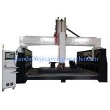 China Mittellinien-Fräser meistgekaufte Mittellinie CNC-5 Stein-CNC-Maschinerie-hölzerner Kunst CNC-5