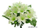 인공 적이고 Plastic/Silk Flower Lily 부시 (2818059-19)