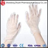 I guanti a gettare del vinile dell'esame medico annullano/guanti blu del PVC