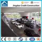 Estructura de acero de la luz de prefabricados Showroom para coche