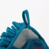 Перчатка мытья автомобиля синеля Microfiber плюша