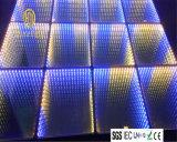 Espejo LED portable Dance Floor del efecto de la luz 3D del partido del club de la boda