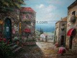 Воспроизведение каменные дома картины маслом, Джозеф для украшения