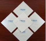 Soft logo imprimé dîner serviette en papier-tissu