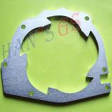 De zilveren CNC van de Apparatuur van de Laser van de Vezel van het Roestvrij staal Snijder van de Laser van het Metaal