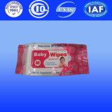 I Wipes bagnati del bambino con Spunlace hanno bagnato il tessuto dai prodotti della Cina