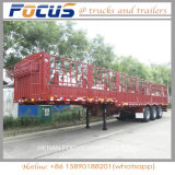 반 3개의 차축 말뚝 담 화물 트럭 트레일러