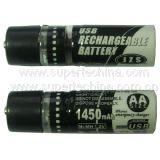 Carregador de bateria recarregável USB para celular (S2B-5001B)