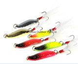 5.5G cuillère en métal de couleur différente de la pêche Lure Lure Lure cuillère Pêche