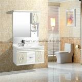 Cabinet de salle de bains accrochant reflété de PVC