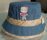 正常なデザイン昇進の子供の刺繍釣帽子