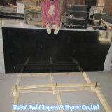 Полированный природных слоев REST Шаньси черного гранита слоев REST/плитки