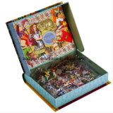 子供の困惑の印刷の包装の本によって形づけられるギフト用の箱をカスタマイズしなさい
