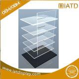 Triangle de rotation de table 3 de la platine côté Brochure présentoir acrylique