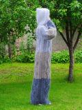 カスタムOEM手のニットのセーターのカーディガンの服のプルオーバー